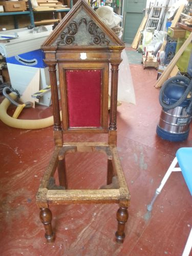 gilbert-greenall-deacons-chair-undergoing-restoration